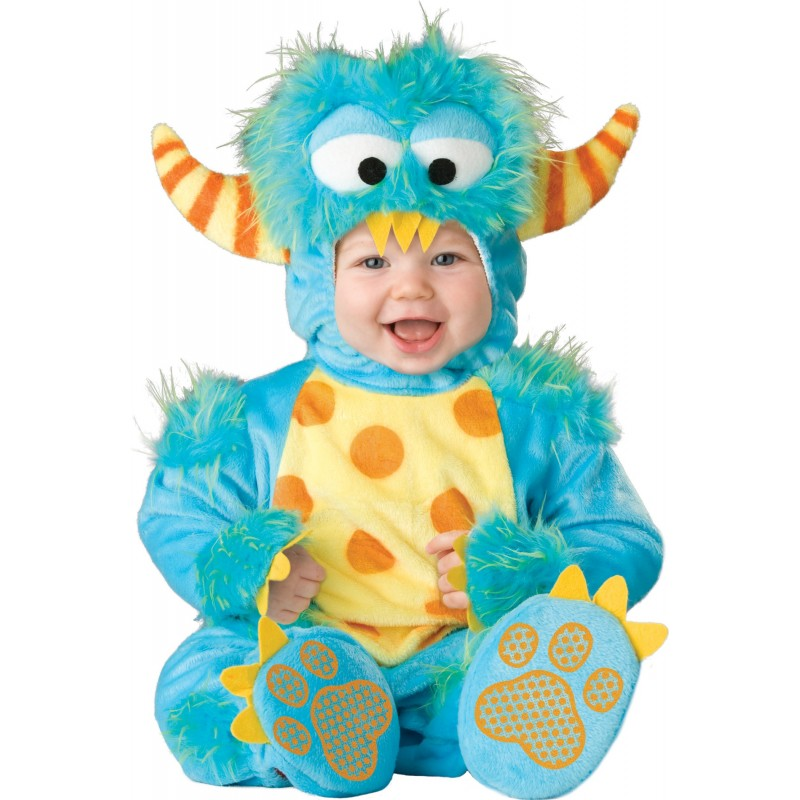 Costume Carnevale Mostro per Bambino Incharacter 0-4 anni