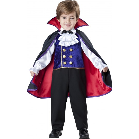 Costume Carnevale Halloween Vampiro Incharacter 2-4 anni