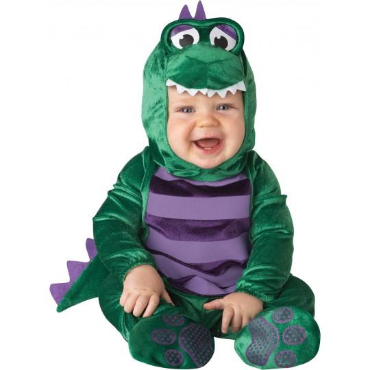 Costume Carnevale Dinosauro per Bambino Incharacter 0-24 mesi
