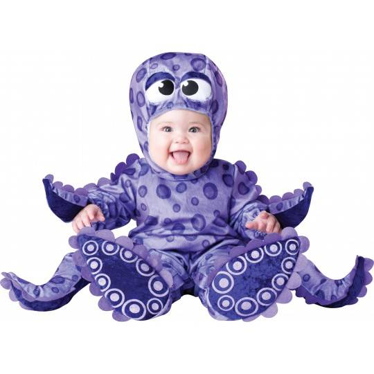 Incharacter Carnival Baby Costume Tiny Tentacles 0-24 months