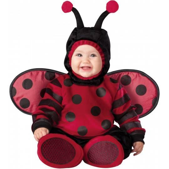 Incharacter Costume de Carnaval Enfant Coccinelle 0-4 ans