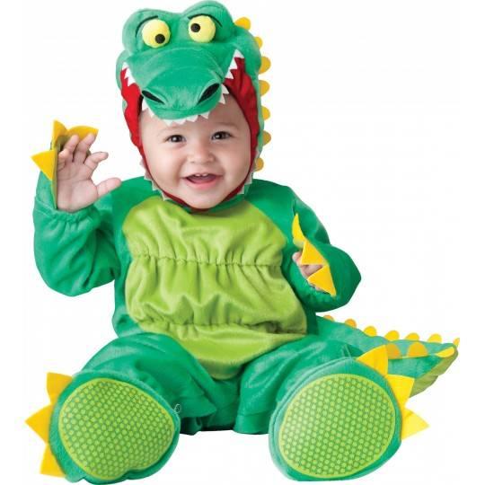 05e719d0102d Costume Carnevale Coccodrillo per Bambino Incharacter 0-24 mesi