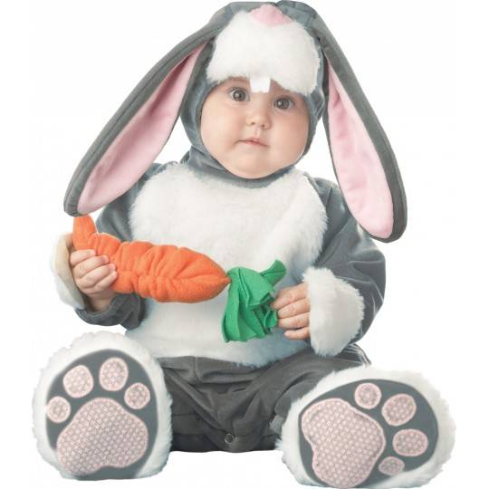 Incharacter Costume de Carnaval Enfant Lapin Lil' Bunny 0-24 mois