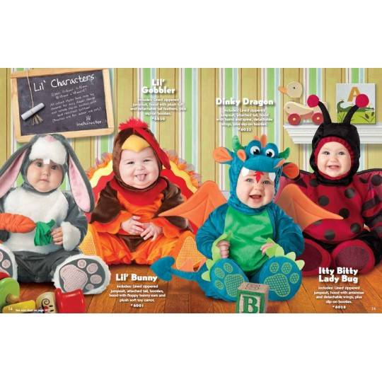 Incharacter Carnival Baby Costume Lil' Bunny 0-24 months