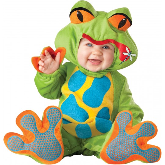 Incharacter Carnival Halloween Lil' Froggy Costume 0- 4 years