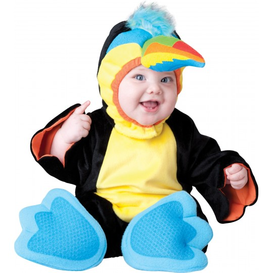 Incharacter Carnival Baby Costume Tiny Toucan 0-24 months