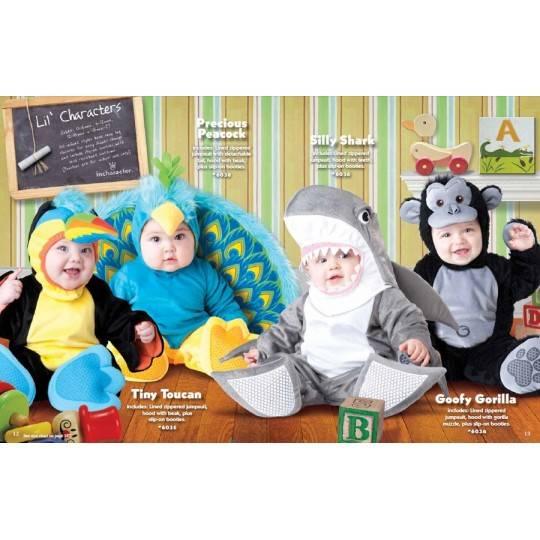 Incharacter Costume de Carnaval Enfant Toucan 0-24 mois