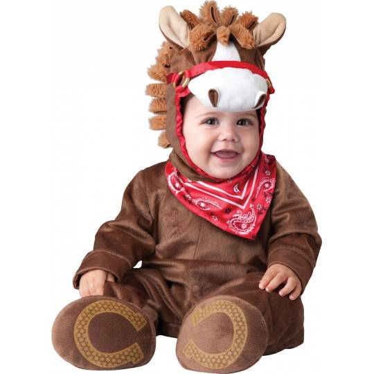 5e857c5b23d5 Costume Carnevale Incharacter Pony per Bambini 0-24 mesi