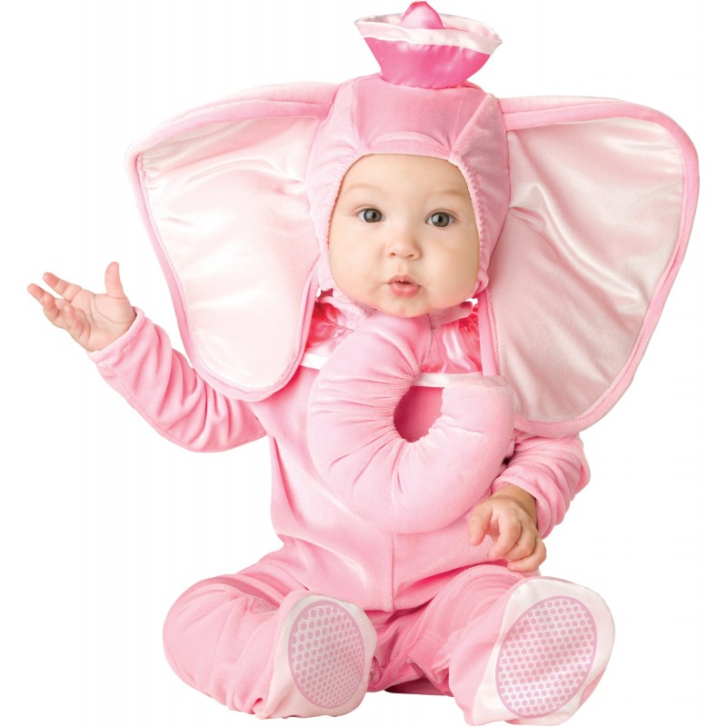 Incharacter Carnival Baby Costume Pink Elephant 0-24M