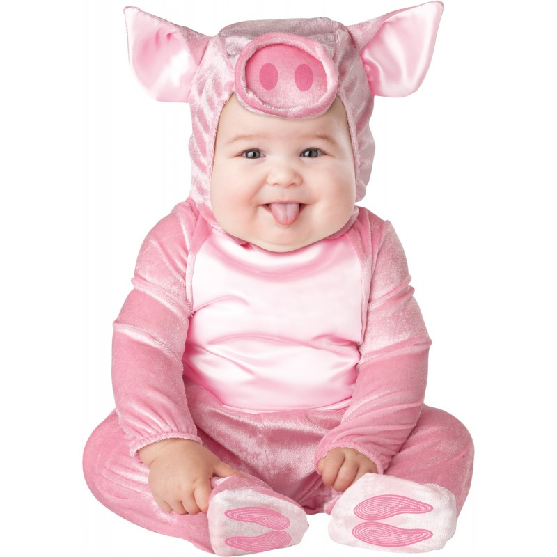 Incharacter Carnival Baby Costume This Lil' Piggy 0-12 months