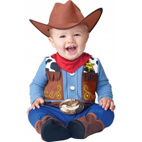 Incharacter Costume de Carnaval Enfant Cow-boy 6-18 mois
