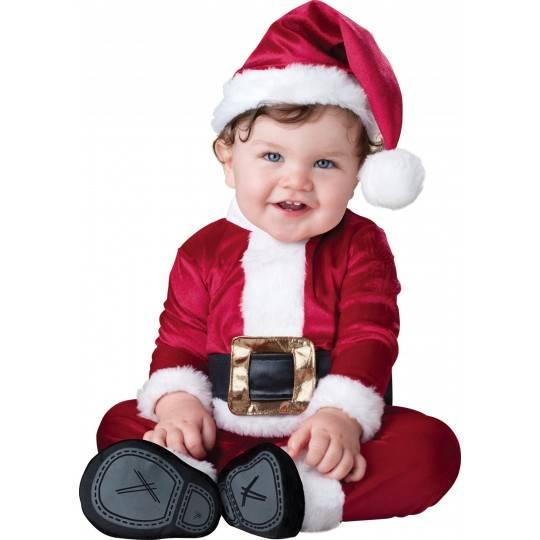 Costume Piccolo Babbo Natale Incharacter 0-24 mesi