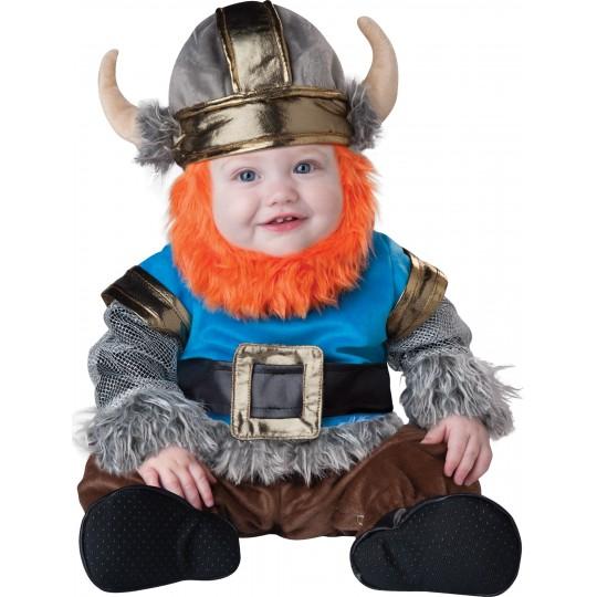 Costume Carnevale Vichingo per bambino Incharacter 0-24 mesi