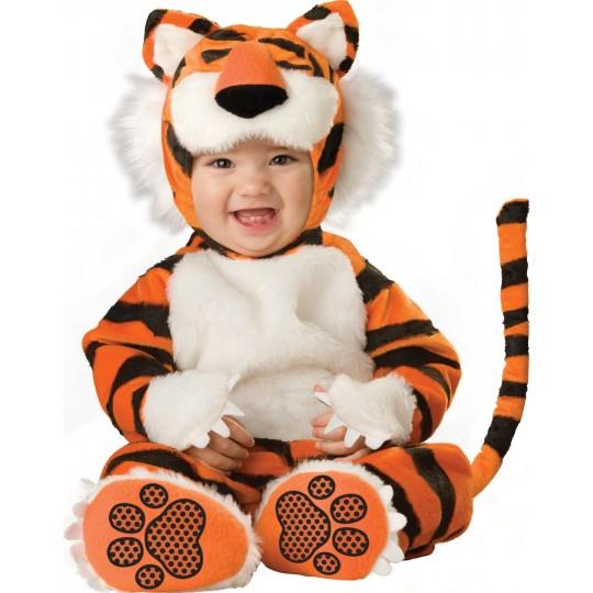 Costume Carnevale Tigre per bambino Incharacter 0-24 mesi