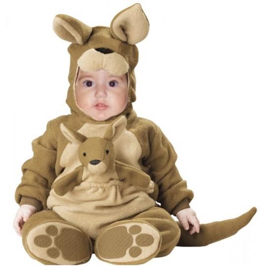 Costume Carnevale Canguro per Bambino fino a 3anni