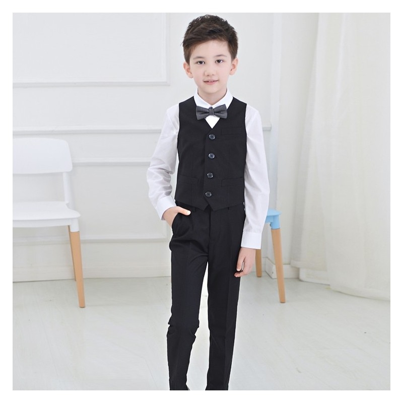 Baby boy formal suit 4 pcs 100-160 cm