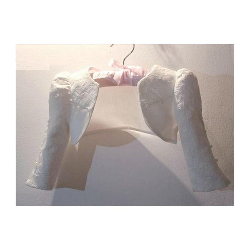 Girl Formal Bolero White 80-150cm