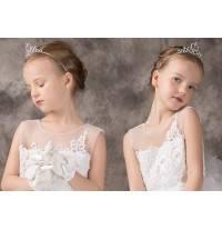 Little girl beaded headband for ceremonies