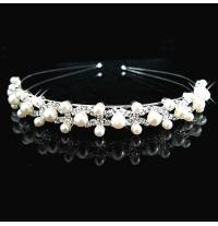 Little girl beaded headband for ceremonies