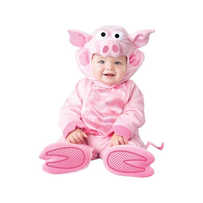 a156acab8224 Costume Carnevale Maialino prezioso per bambino Incharacter 0-24 mesi