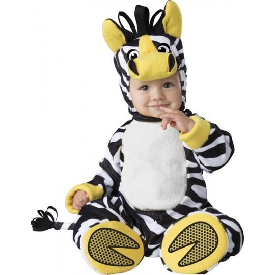Incharacter Costume de Carnaval Enfant de Zèbre 6-24 mois