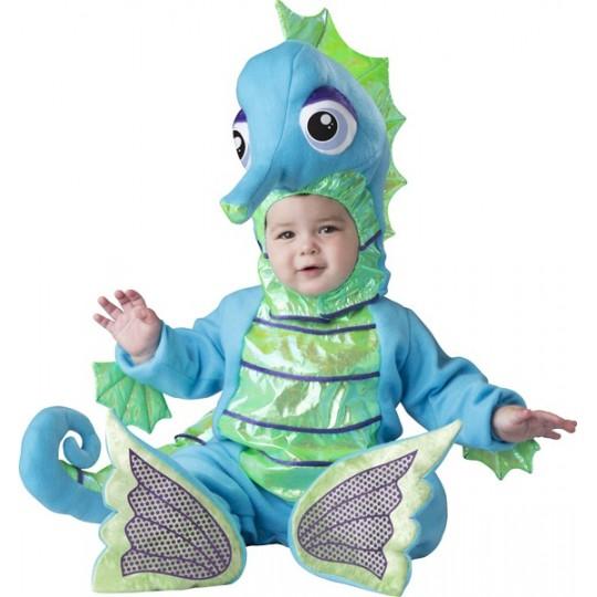 Incharacter Costume de Carnaval Enfant d'Hippocampe 6-24 mois