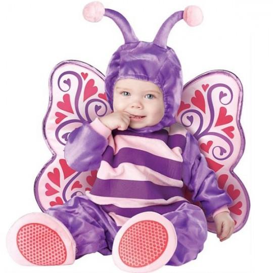 Costume de Carnaval Papillon jusqu'à 3 ans