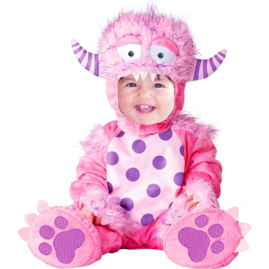 Carnival Baby Costume Little Pink Monster up to 3 years