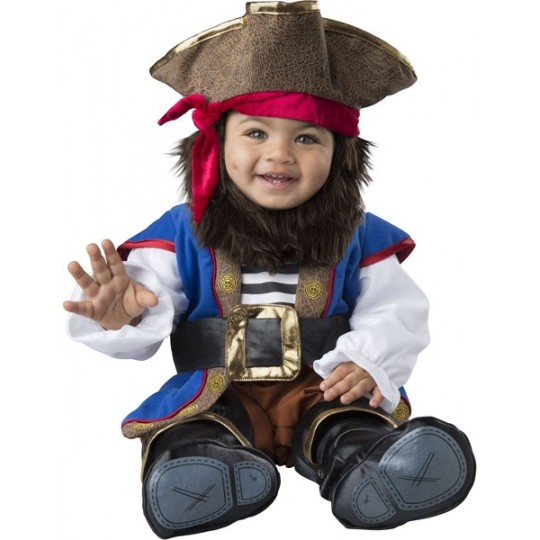 Costume Carnevale Pirata per Bambino Incharacter 0-24 mesi
