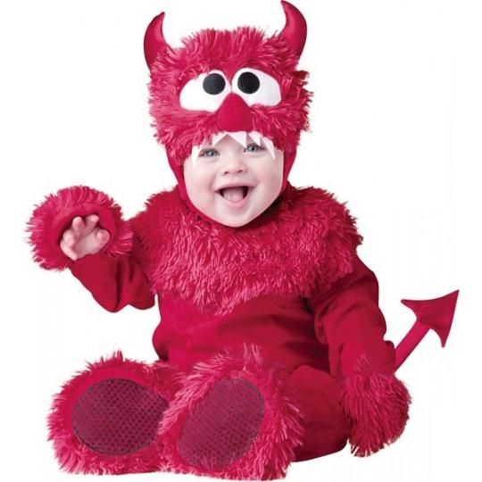 Costume Carnevale Diavoletto per Bambino Incharacter 0-24 mesi