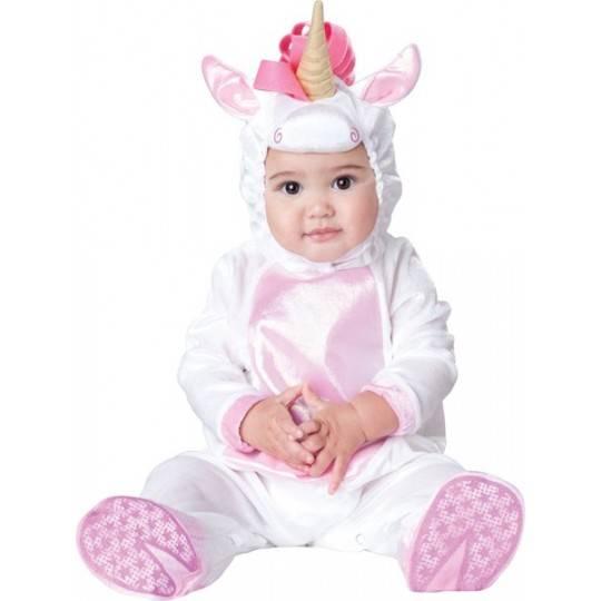 Costume Carnevale Unicorno per Bambino Incharacter 0-24 mesi