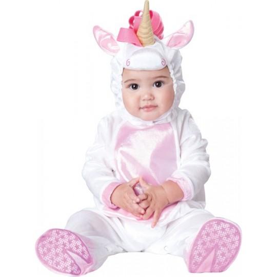 Costume Carnevale Unicorno Magico per Bambina Incharacter 0-24 mesi