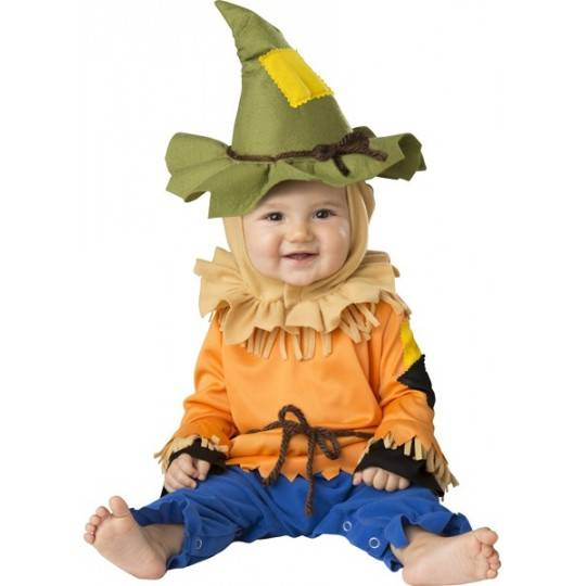 Costume Carnevale Spaventapasseri per Bambino Incharacter 0-24 mesi