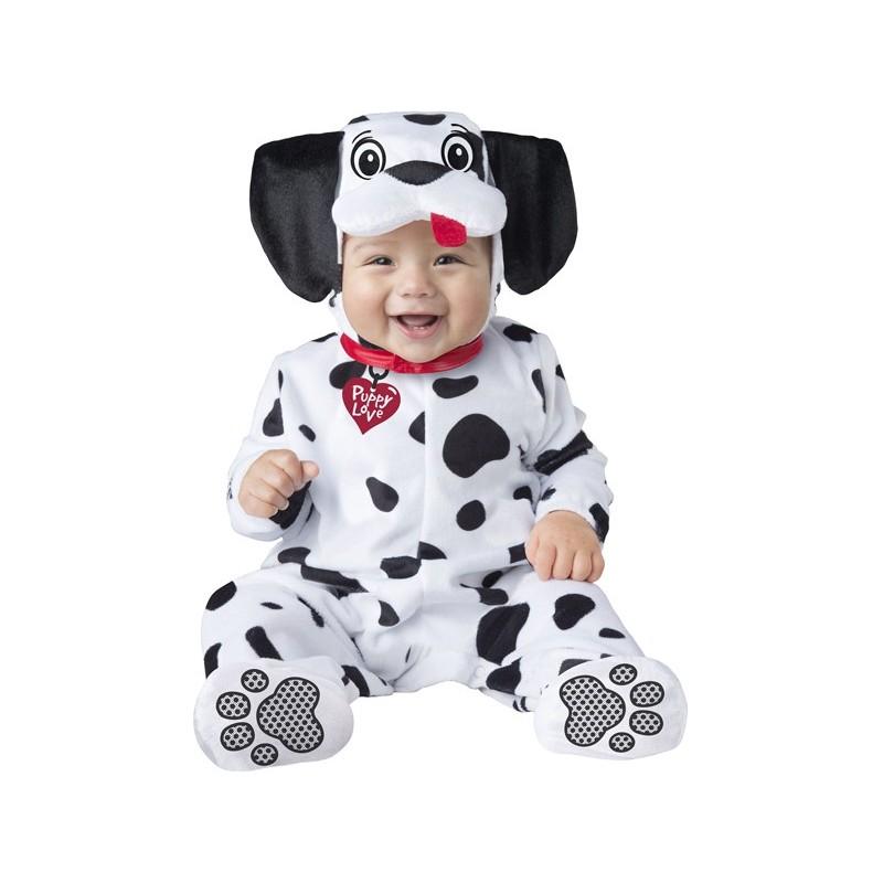 Costume Carnevale Baby Dalmata per Bambino Incharacter 0-24 mesi d2424eff58e