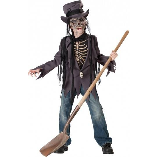 Incharacter Carnival Halloween Grave Robber Costume 5-12 years
