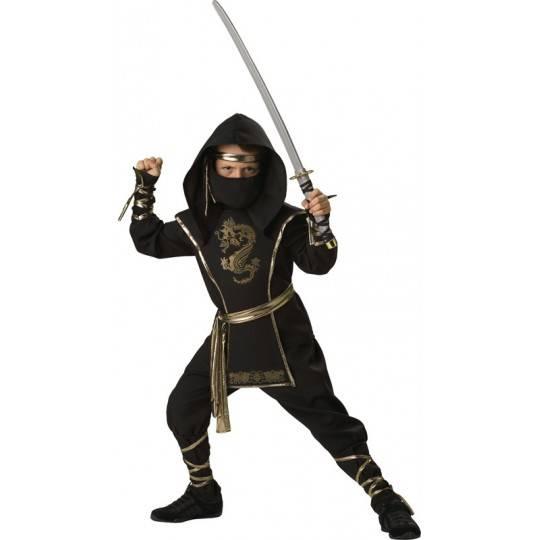 Incharacter Carnival Halloween Ninja Warrior 3-14 years