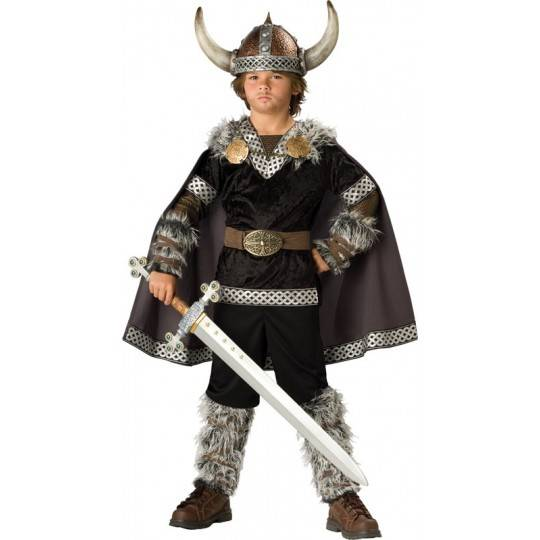 Incharacter Carnival Viking Warrior Costume 3-12 years