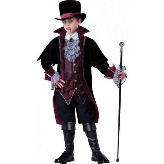 Costume Carnevale Halloween Incharacter Vampiro di Versailles 5-16 anni