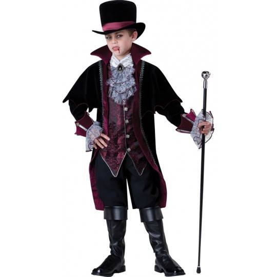 Incharacter Carnival Halloween Vampire of Versailles Costume 5-16 years