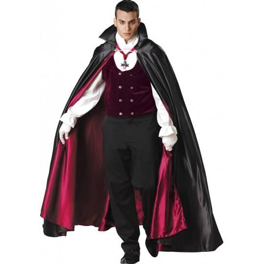 Costume Carnevale Halloween Incharacter Vampiro gotico da 14 anni