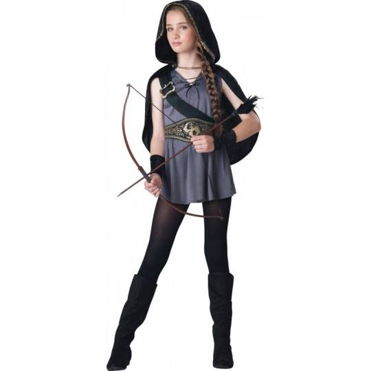 Incharacter Costume de Carnaval Chasseresse 8-14 ans