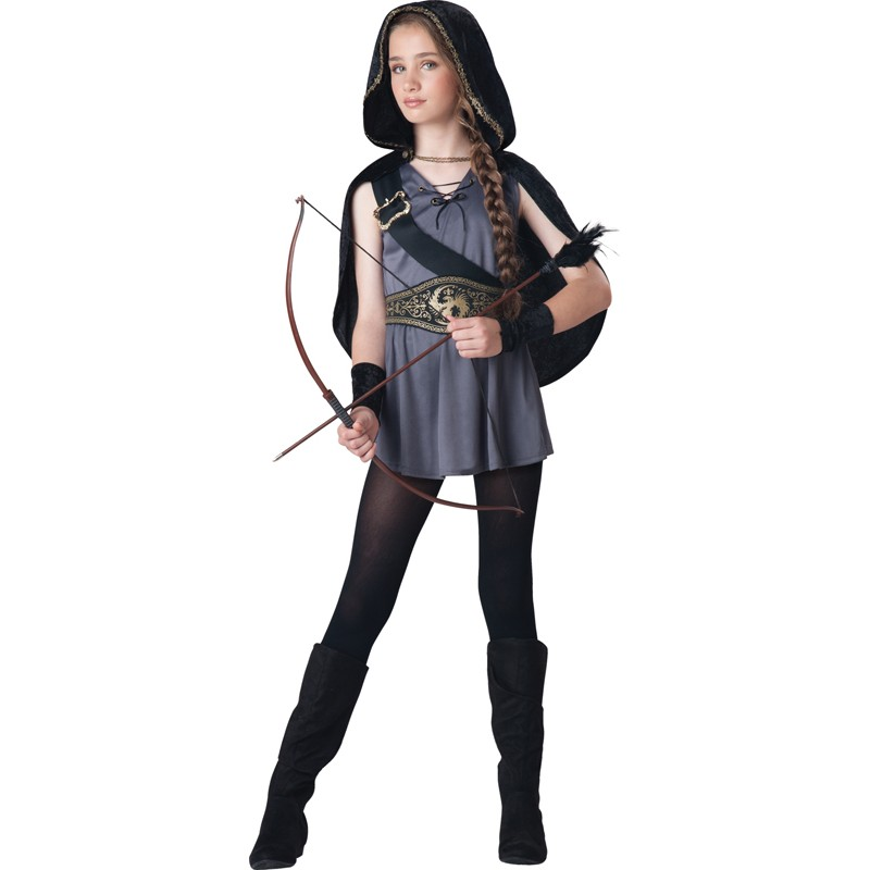 Incharacter Carnival Hooded Huntress Costume 8-14 years