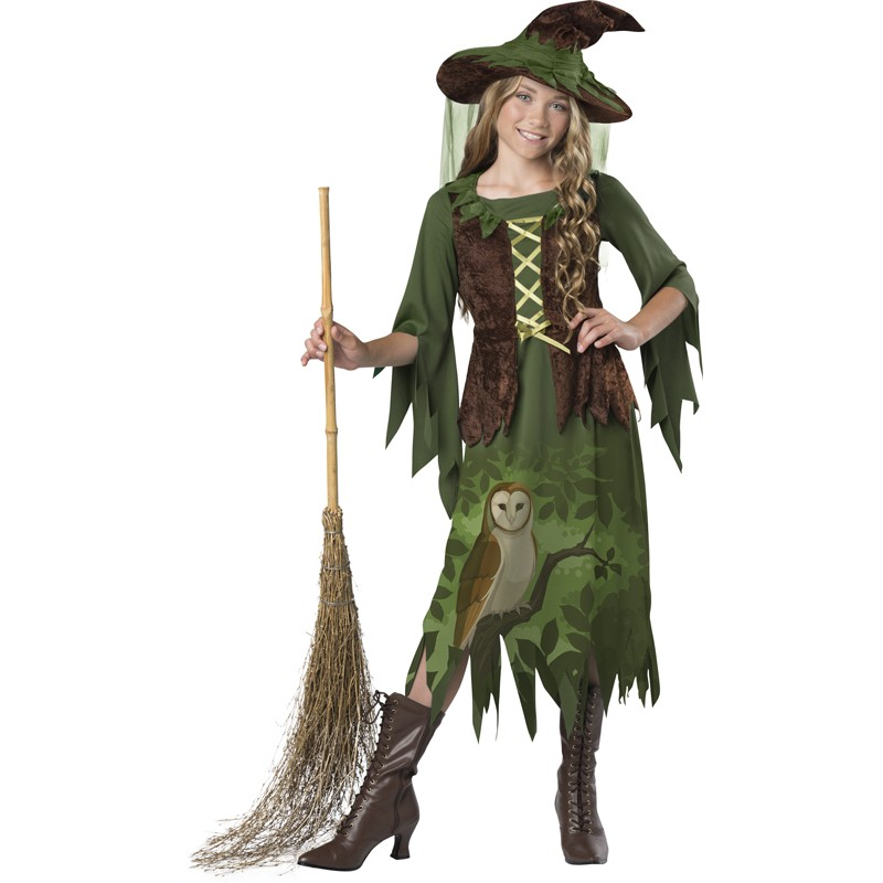 Incharacter Carnival Wild Woods Witch Costume 8-14 years