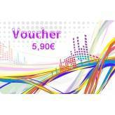 Voucher EUR 5,90