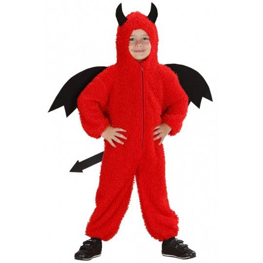 Fuzzy little devil costume 2-3 years