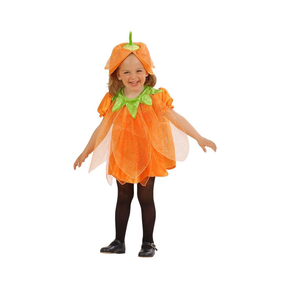 belle scarpe di prim'ordine scarpe eleganti Costume Zucca Halloween bambina 1-3 anni