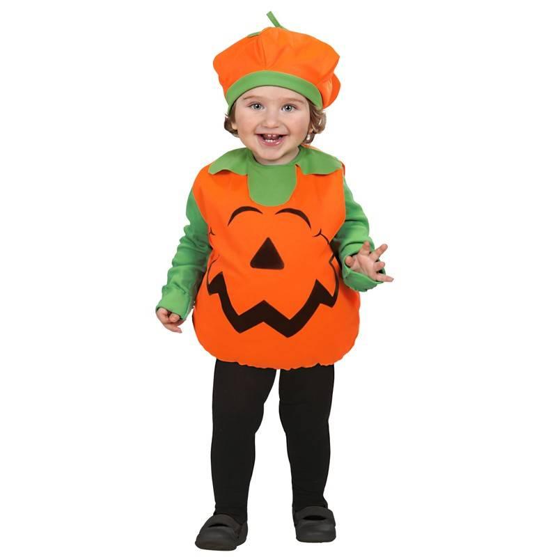 arriva scegli genuino come comprare Costume Zucca Halloween unisex 1-3 anni