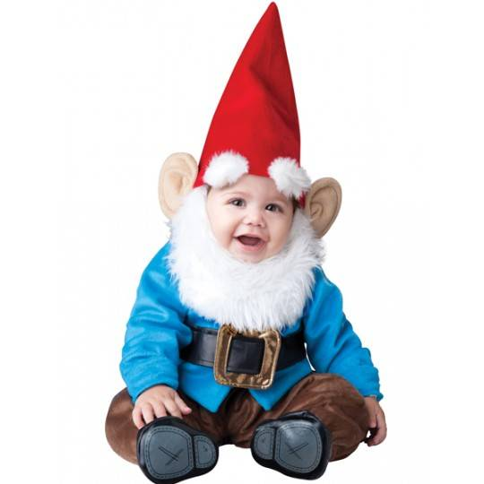 Costume de Carnaval Gnome Incharacter 0-24 mois