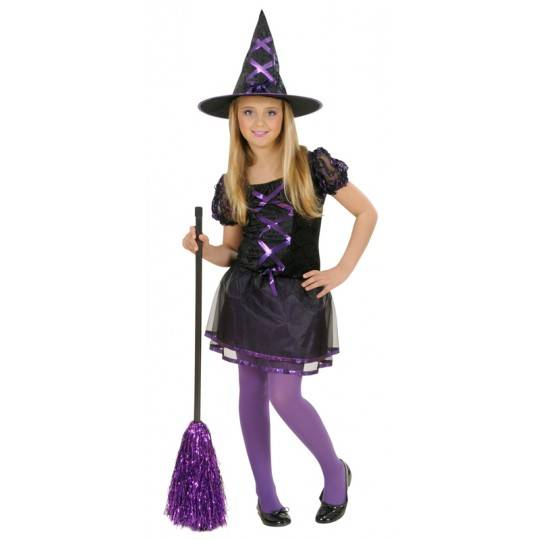 Ribbon Witch Costume 5-13 years