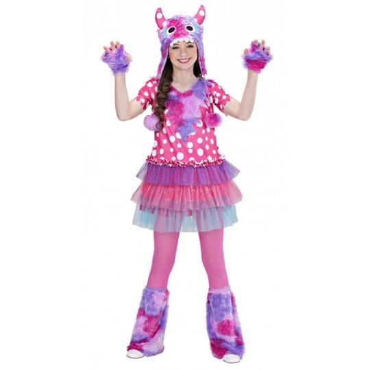 Monster girl costume 3-7 years